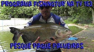 Programa Fishingtur na TV 153 - Pesque Pague Palmeiras