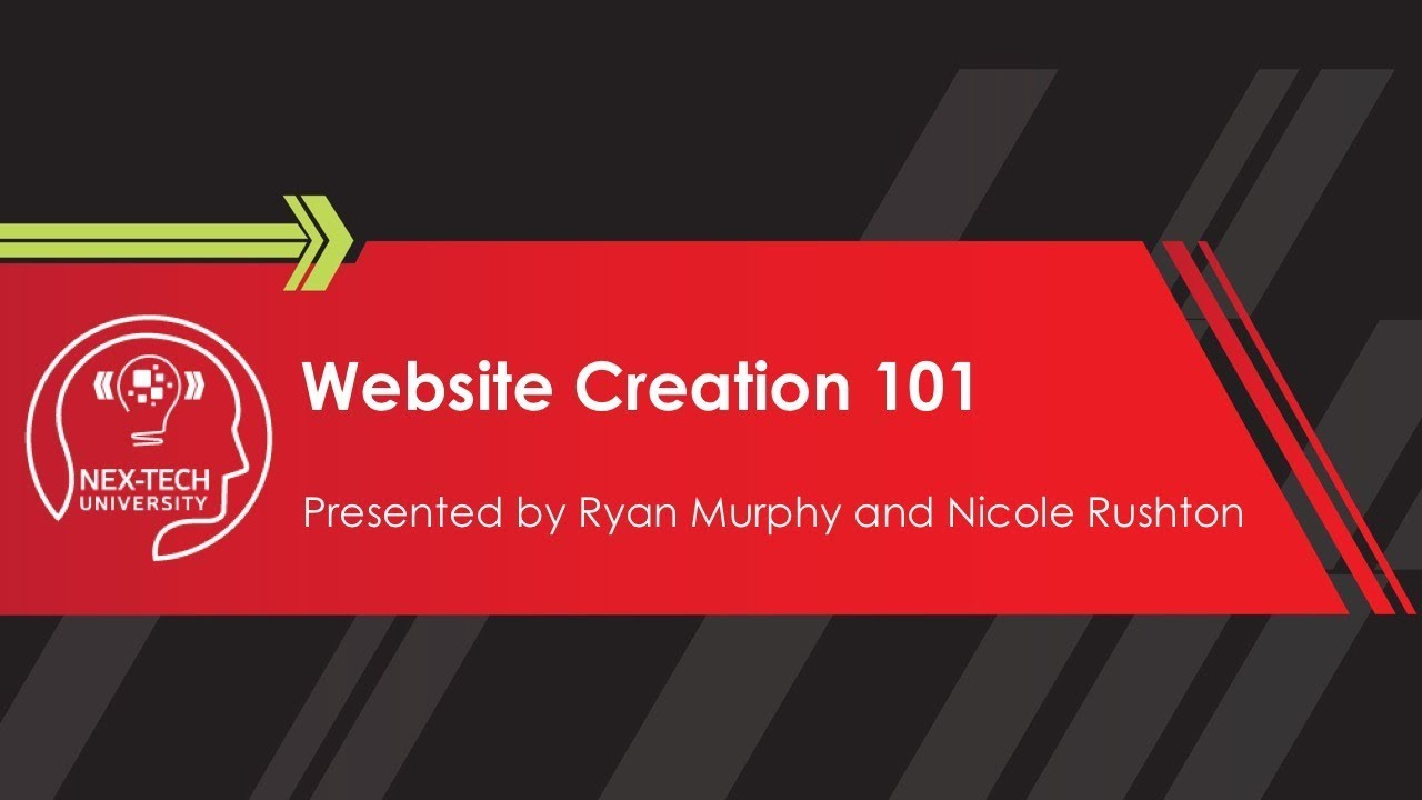 Website Creation 101