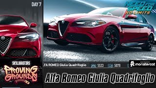Need For Speed No Limits: Alfa Romeo Giulia Quadrifoglio | Proving Grounds (Day 7 - Challenge)
