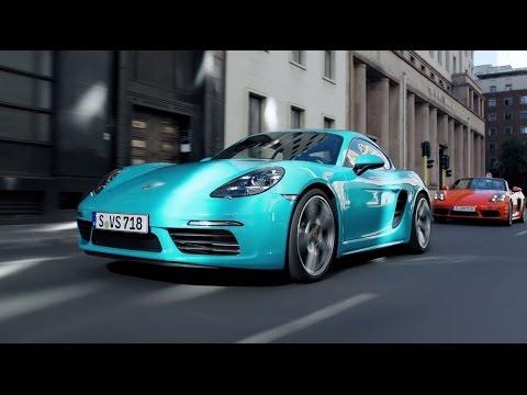 Porsche  718 Купе класса A - рекламное видео 2