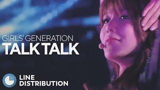 GIRLS' GENERATION - Talk Talk (Boomerang) (Line Distribution)