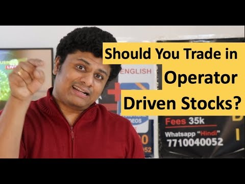 , title : 'Should YOU Trade in Operator Driven Stocks?
