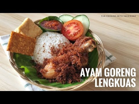AYAM GORENG LENGKUAS * INDONESIAN FRIED CHICKEN