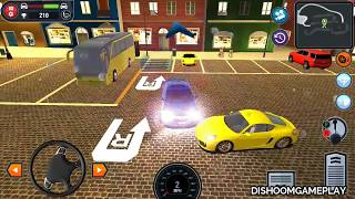 Driving school simulator gameplay