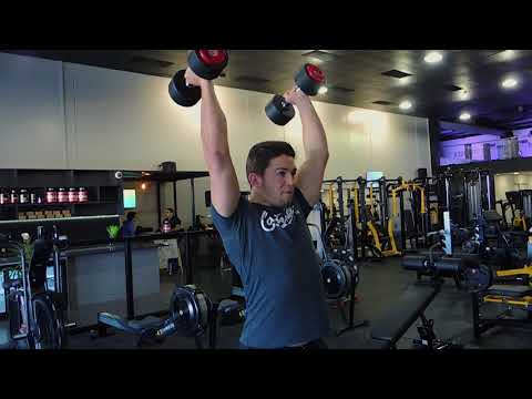Dumbbell Squat to Press