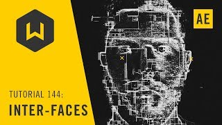 Create a biometric FUI look with a face - Tutorial 144: Inter-faces
