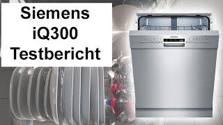 Test: Geschirrspüler Siemens SN436S01GE iQ300 (Erfahrungsbericht)