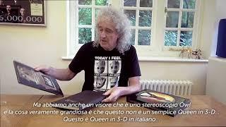BRIAN MAY | QUEEN IN 3-D, unboxing edizione italiana (sottotitoli)