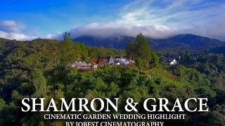 A Must Watch Garden Wedding Highlight Malaysia - Shamron + Grace by Jobest