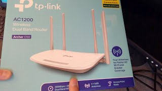 TP-Link C50 AC1200 - Access Point Setup How To