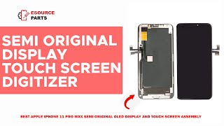 Apple iPhone 11 Pro Max OLED LCD Touch Screen & Digitizer Assembly Review