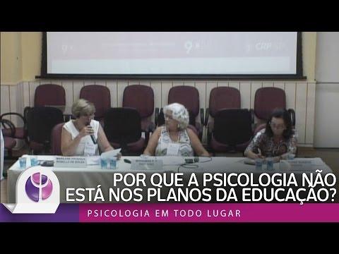 Por que a Psicologia não está nos planos da Educação?