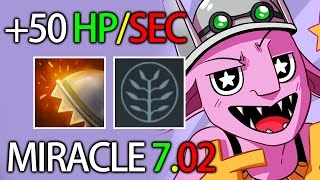 +50 HP Regen 7.02 META MID Timber by Miracle vs Chinese Dota 2