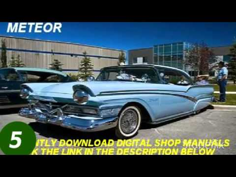 American Ford Classic Cars Shop Manuals Mp3