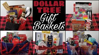 Dollar Tree Gift Baskets 2019 • Great For Christmas Or All Year Long