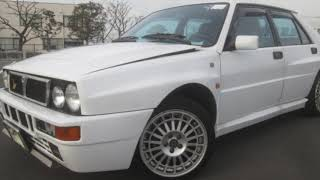 1994 Lancia Delta Integrale EvoII in white and what a spectacular example with under 30,000 Klm