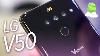 LG V50 ThinQ 5G hands-on: Why does this exist?