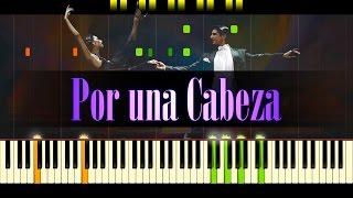 Por una Cabeza (Piano) - Tango // CARLOS GARDEL