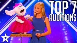 The Best Top 7 Amazing Auditions  America's Got Talent 2017