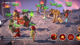 Beating Artus, Sun Wokung und Tsuna with Blood Emperor and Bombsquad / Age of Magic