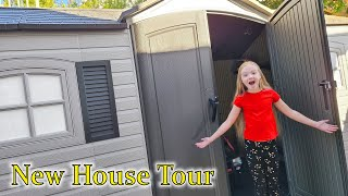 New House Tour!!! Trinity Shows Off Her Tiny House!!!