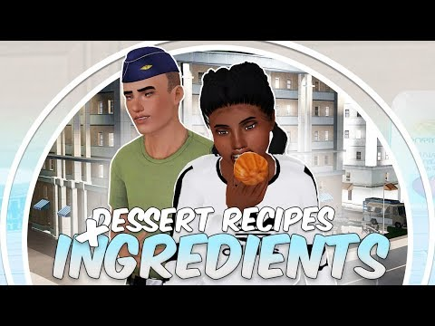 Sims 3 || MOD REVIEW: New Dessert Recipes & Ingredients – Carrot Cake + BROWNIES?!