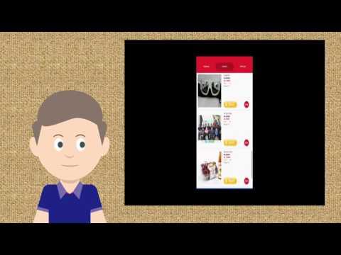 Cimol - Aplikasi Toko Online di Android