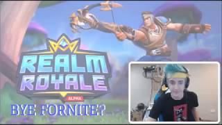Ninja Plays *NEW* Battle Royale Game? - Realm Royale