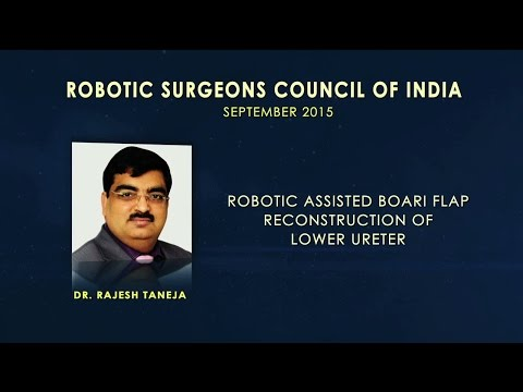 Robotic Assisted Boari Flap Reconstruction of Lower Ureter