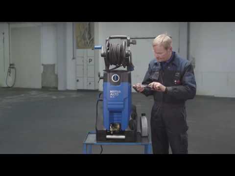 Czynności konserwacyjne Nilfisk Blue mc 3c myjka ciśnieniowa Poseidon Abro System video