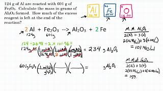 Limiting Reactant: Mass To Mass - Practice - 2