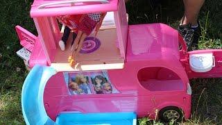 Mattel - Barbie - Super Rozkładany Kamper! Na Wakacyjne Wyprawy! - CJT42 - MegaDyskont.pl