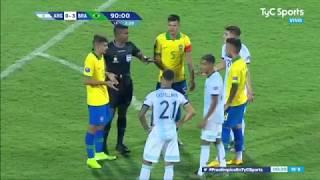 Con gol de Paulinho y doblete de Cunha, la Verdeamarelha aplastó a los dirigidos por Fernando Batista y se sumó a un combinado albiceleste campeón para disputar los Juegos Olímpicos de Tokio.