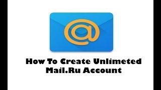 How To Create Unlimeted Mail.Ru Account || 100%Working ||Bangla Tutorial || A-Z Ltd