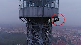 BNT 161 LAMAX Prague Eiffel Tower (urban Climbing)