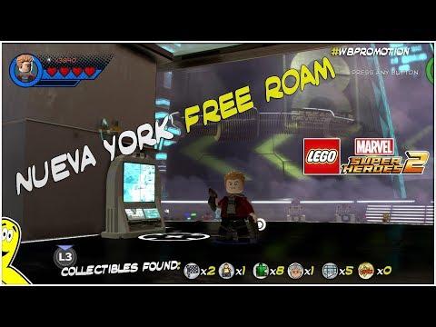 LEGO Marvel Superheroes 2 - Venom Open World Free Roam
