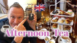 (必見)イギリスといえば!!! Afternoon Tea !!  [ The Stafford Hotel ]