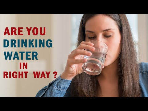 Are You Drinking Your Water Right? | Healthfolks.com