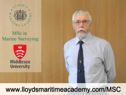 MSc in Marine Surveying (Top Up) online training course - YouTube