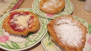 Cooking with Kenshin1913: Fried Dough Pizza