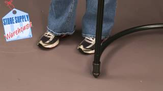 Clothing Racks - How To Assemble The Pipeline Half Round Display