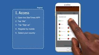 How to register on the StarTimes app