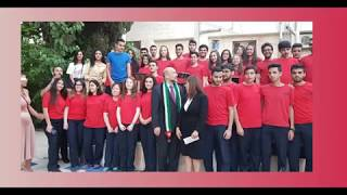 Cambridge High School CAS Students participated in the Petra National Trust Ceremony