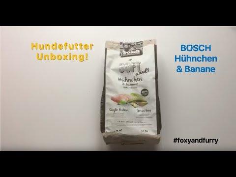 Hundefutter Unboxing I Futtertest I Bosch Soft Adult Hühnchen & Banane