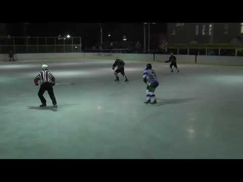 Игра  между раевскими и чекмагушевскими хоккеистами