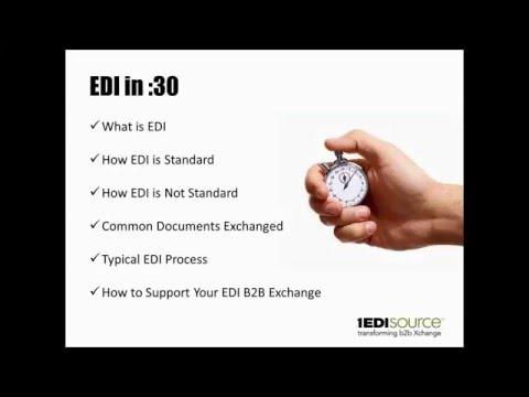 EDI Crash Course for the Non-EDI Manager - YouTube