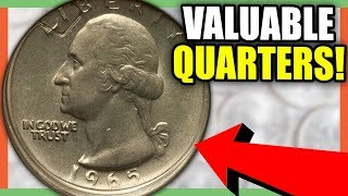 10 VALUABLE QUARTERS TO LOOK FOR - RARE QUARTERS WORTH A LOT OF MONEY!