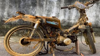 Restoration of 1990 SYM angel hi | Restore tear down Old and Rusted motorcycle