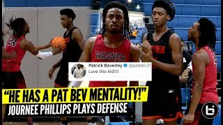 """""""He's the Patrick Beverly of High School Basketball!"""" Journee Phillips Locks Up!"""