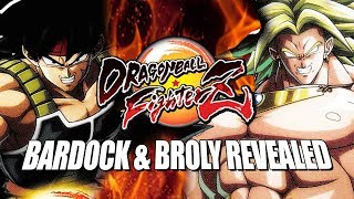 BARDOCK & BROLY REVEALED: DragonBall FighterZ - DLC Pack 1
